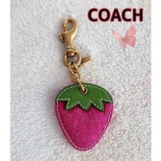COACH - コーチ COACH キーホルダー いちご