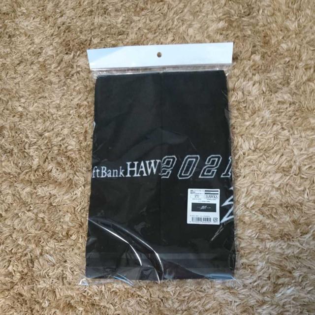 福岡ソフトバンクホークス(フクオカソフトバンクホークス)の福岡ソフトバンクホークス SoftBank フェイスタオル 2枚セット 2021 スポーツ/アウトドアの野球(応援グッズ)の商品写真
