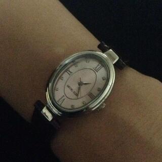 ミッシェルクラン(MICHEL KLEIN)のミッシェルクラン レディースウオッチ❤️カラーワイン(腕時計)