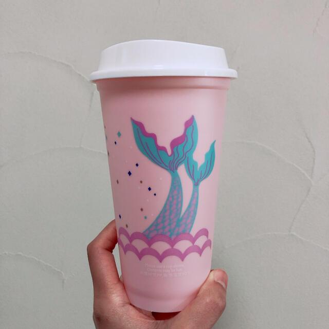Starbucks Coffee(スターバックスコーヒー)のスタバ スターバックス 台湾 コップ リユーザブルカップ エコカップ  インテリア/住まい/日用品のキッチン/食器(タンブラー)の商品写真