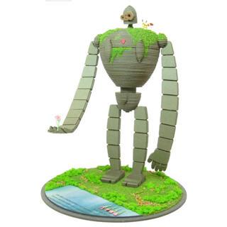 ジブリ(ジブリ)の天空の城ラピュタ みにちゅあーとキット1/30 ロボット兵(園丁タイプ)(その他)