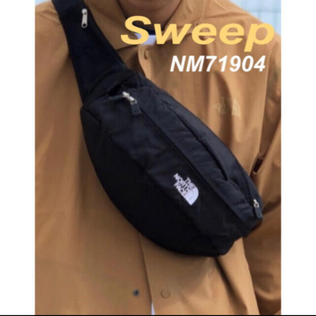 THE NORTH FACE(ザノースフェイス)のノースフェイス スウィープ Sweep 黒 新品 メンズのバッグ(ウエストポーチ)の商品写真