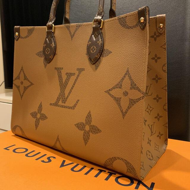 LOUIS VUITTON(ルイヴィトン)の処分セール!新作❤︎新品 大人気オンザゴー MM 送料込み☆ レディースのバッグ(トートバッグ)の商品写真