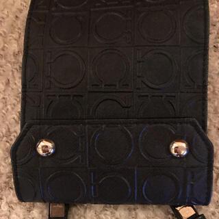 フェラガモ(Ferragamo)のフェラガモ Ferragamo 財布 黒 ショルダーの長さ/118(財布)