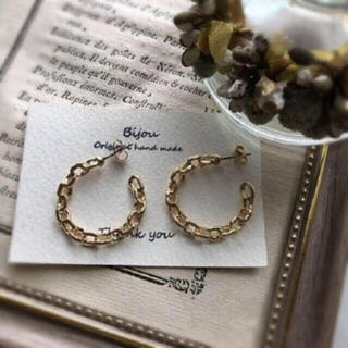 ZARA - *特別販売* gold chain pierce