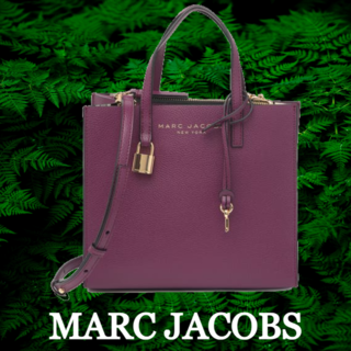 MARC JACOBS -  ★SALE☆【MARC JACOBS】ロゴミニグラインドコートレザートート