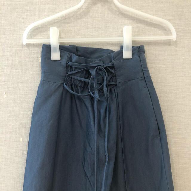 Mystrada(マイストラーダ)の連休SALE❤︎マイストラーダ ースアップ2WAYスカート レディースのスカート(ひざ丈スカート)の商品写真