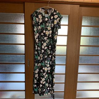 mame - mame kurogouchi フラワーTシャツマキシワンピース
