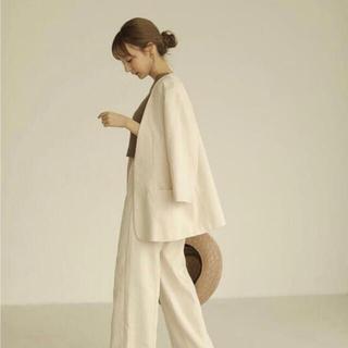 louren テーラードジャケット ホワイト