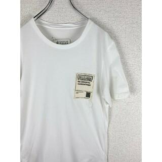 マルタンマルジェラ(Maison Martin Margiela)の【Maison Margiela】マルジェラ tシャツ ステレオタイプ 白(Tシャツ/カットソー(半袖/袖なし))