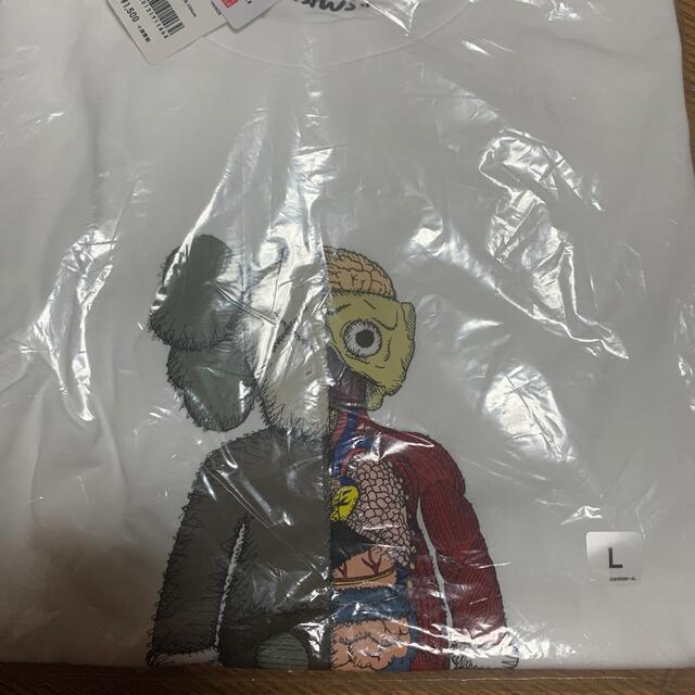 UNIQLO(ユニクロ)のKAWS(カウズ)UNIQLO コラボTシャツ 2枚セット メンズのトップス(Tシャツ/カットソー(半袖/袖なし))の商品写真