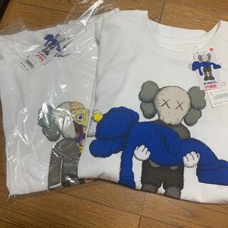 UNIQLO - KAWS(カウズ)UNIQLO コラボTシャツ 2枚セット