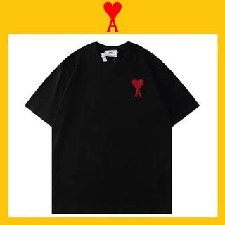 アクネ(ACNE)のami alexandre mattiussi ロゴ Tシャツ(Tシャツ/カットソー(半袖/袖なし))