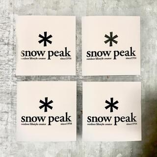 Snow Peak - スノーピークステッカー