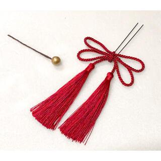 髪飾り タッセルリボン(ヘアアクセサリー)