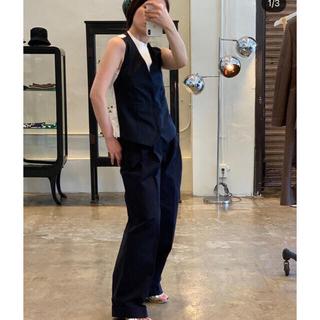 jonnlynx - fumika uchida twill 3 tuck pants  34