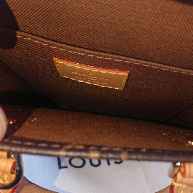 LOUIS VUITTON(ルイヴィトン)のルイヴィトン プティット・サックプラ モノグラム レディースのバッグ(ショルダーバッグ)の商品写真