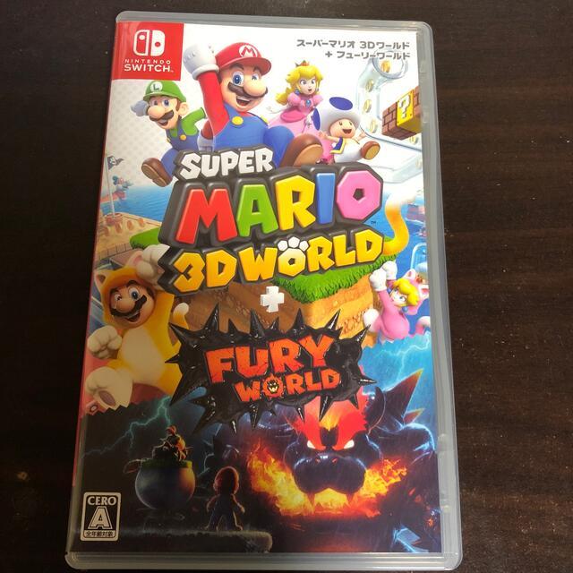 Nintendo Switch(ニンテンドースイッチ)のスーパーマリオ 3Dワールド + フューリーワールド Switch エンタメ/ホビーのゲームソフト/ゲーム機本体(家庭用ゲームソフト)の商品写真