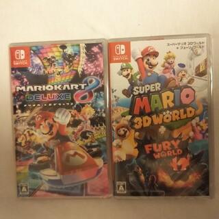 ニンテンドースイッチ(Nintendo Switch)のマリオカート8 デラックス    スーパーマリオ3dワールド(家庭用ゲームソフト)