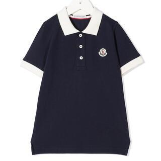 モンクレール(MONCLER)の【新品】MONCLER モンクレール ロゴ ポロシャツ 14Y(ポロシャツ)