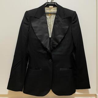 ステラマッカートニー(Stella McCartney)の美品 ステラマッカートニー テーラードジャケット 42サイズ 定価6万円 送料込(テーラードジャケット)