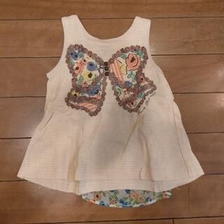 アナスイミニ(ANNA SUI mini)のANNA SUI mini ノースリーブシャツ 80サイズ(Tシャツ)