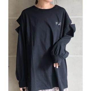 フーズフーチコ(who's who Chico)のフーズフーチコ  袖開きルーズロゴロンT(Tシャツ(長袖/七分))