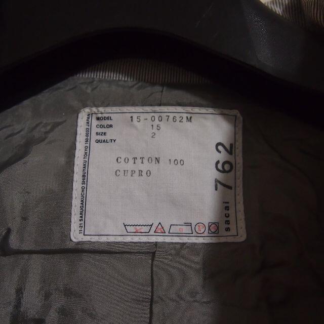 sacai(サカイ)の良品!サカイsacai シアサッカーショップコート 2 メンズのジャケット/アウター(その他)の商品写真