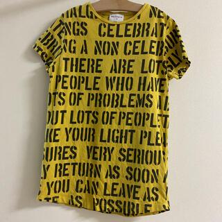 キャラメルベビー&チャイルド(Caramel baby&child )の訳ありwolf&rita 10y♡アルファベットのTシャツ Tシャツワンピ(Tシャツ/カットソー)
