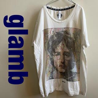 グラム(glamb)のglamb Tシャツ ジョンレノン Imagine portrait T(Tシャツ/カットソー(半袖/袖なし))