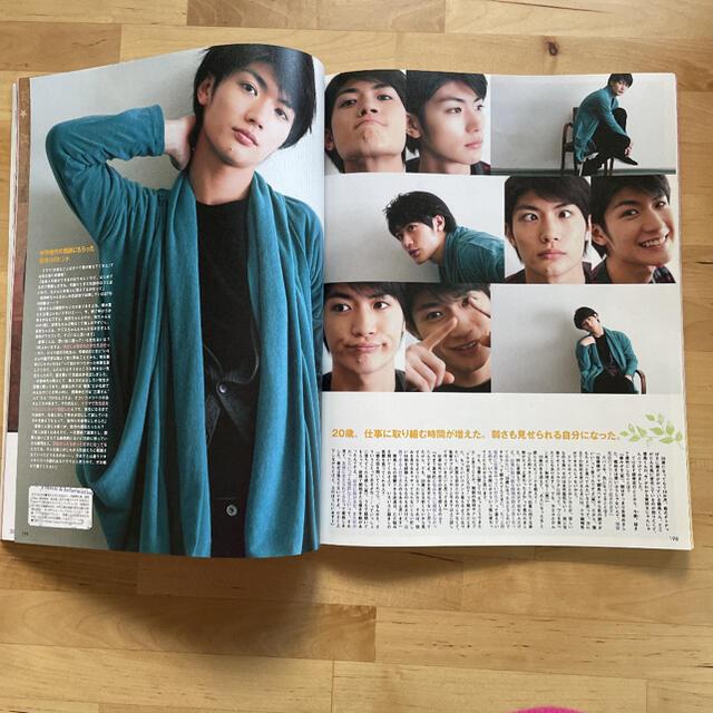 SEVENTEEN(セブンティーン)の三浦春馬 seventeen 2011年 3月号 インタビュー5ページ エンタメ/ホビーの雑誌(ファッション)の商品写真