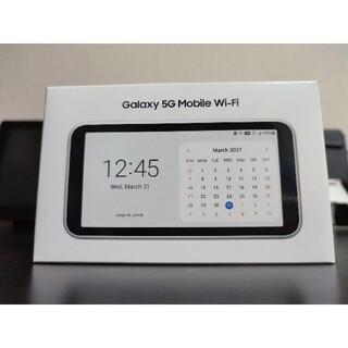 ギャラクシー(Galaxy)のgalaxy 5g mobile wifi SCR01(その他)