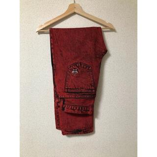Supreme - supreme washed regular Jean 30 red