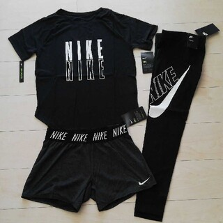 NIKE - NIKEナイキ トレーニングウェアセット Tシャツ・レギンス・ショートパンツ