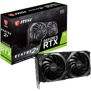 MSI GeForce RTX 3070 VENTUS 2X OCモデル