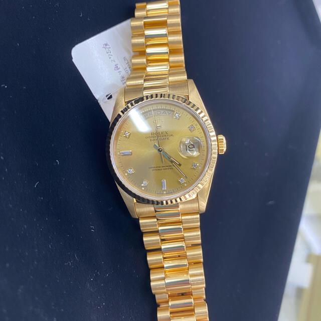 ROLEX(ロレックス)のロレックス デイデイト  メンズの時計(腕時計(アナログ))の商品写真
