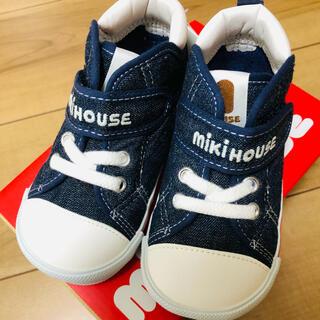 mikihouse - 新品 ミキハウス  スニーカー 14.5cm