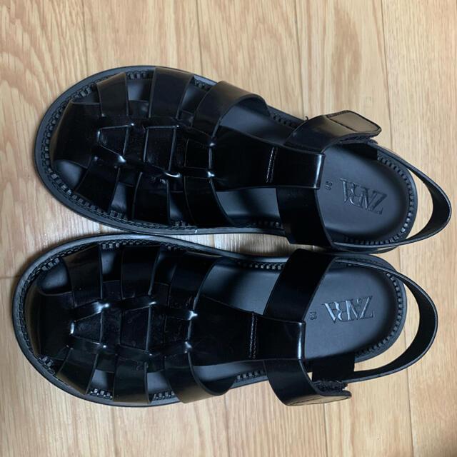 ZARA(ザラ)のグルカサンダル zara ザラ 36 レディースの靴/シューズ(サンダル)の商品写真