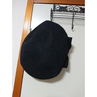 アトリエボズ(ATELIER BOZ)のMIHO MATSUDA ミホマツダ ストローベレー帽(ハンチング/ベレー帽)