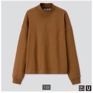 ユニクロ(UNIQLO)の新品☆UNIQLO U モックネックT XL サイズ(Tシャツ(長袖/七分))