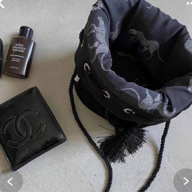 Ameri VINTAGE(アメリヴィンテージ)のCHEETAH BAG & MINI POUCH SET レディースのファッション小物(ポーチ)の商品写真