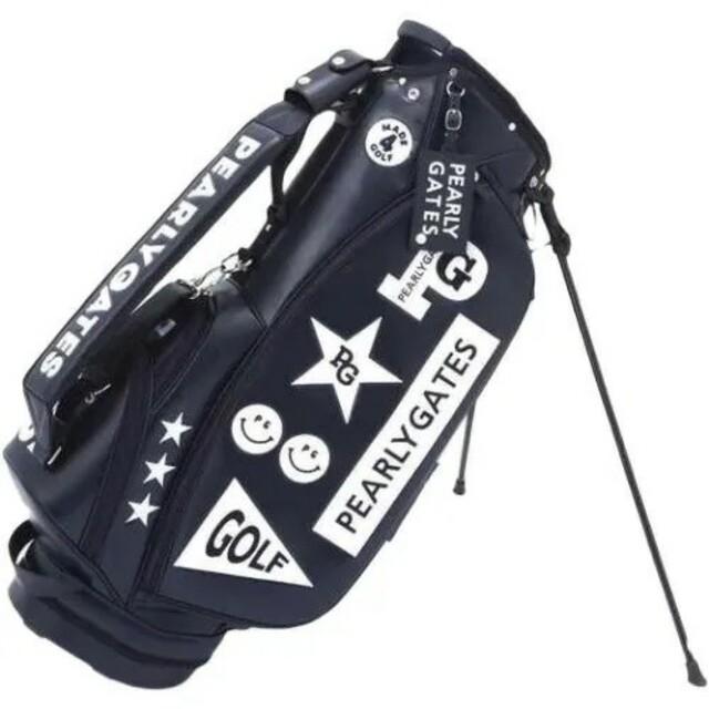PEARLY GATES(パーリーゲイツ)の防水PUゴルフキャディバッグ 二色が選べます スポーツ/アウトドアのゴルフ(バッグ)の商品写真