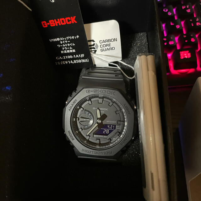 G-SHOCK(ジーショック)の新品 CASIO G-SHOCK GA-2100-1A1JF カシオ メンズの時計(腕時計(アナログ))の商品写真