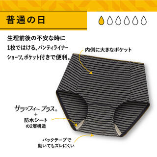 Atsugi - 新品未使用 アツギ サニタリーショーツ パンティ 生理用ショーツ