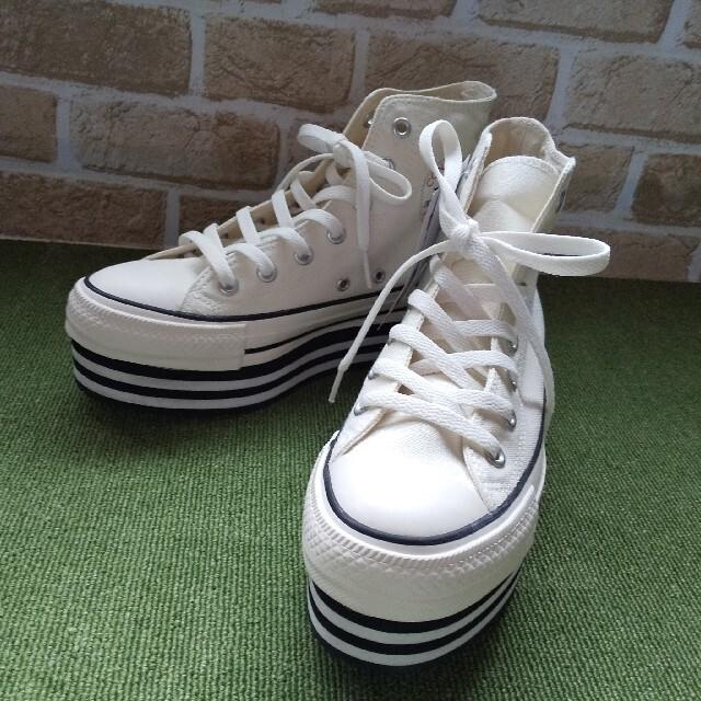 CONVERSE(コンバース)の☆新品未使用☆CHUNKYLINE HI☆CONVERSE レディースの靴/シューズ(スニーカー)の商品写真