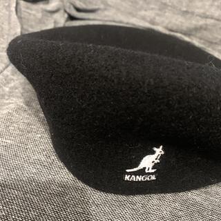 カンゴール(KANGOL)のKANGOL カンゴール ハンチング 黒(ハンチング/ベレー帽)