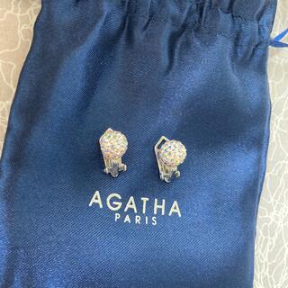 AGATHA - AGATHA ブーライヤリング パヴェ シルバー