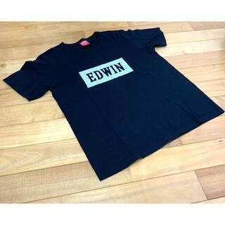 エドウィン(EDWIN)のEDWIN  Tシャツ 黒 Mサイズ メンズ(Tシャツ/カットソー(半袖/袖なし))