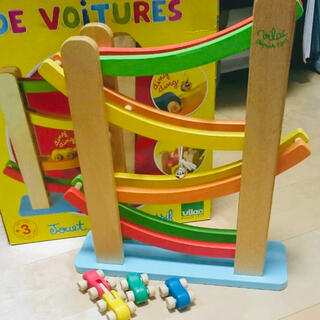 ヴィラック(vilac)のヴィラック くるくるスロープ 木製おもちゃ(知育玩具)