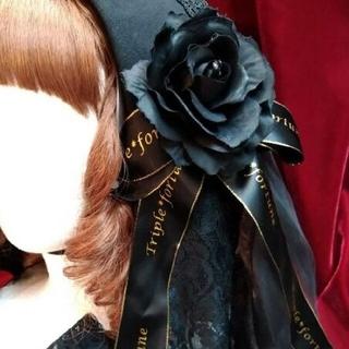 アトリエボズ(ATELIER BOZ)の修道女ヘッドドレス黒(その他)